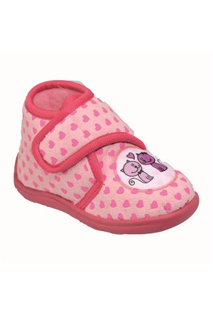 Pink Step A3310321 Pembe Kız Çocuk Panduf
