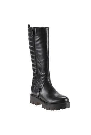 Polaris 52.308063.Z Siyah Kadın Çizme