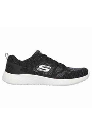 Skechers Burst Kadın Spor Ayakkabı 12433-Bkw