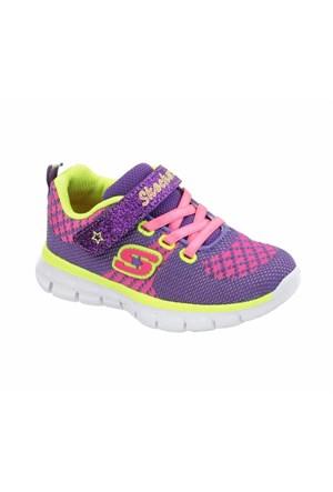 Skechers Synergy Lil Bubbly Çocuk Spor Ayakkabı 80860N-Lvm