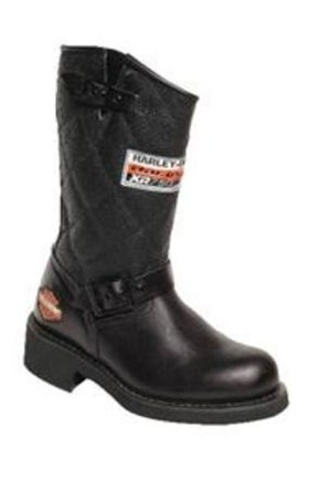 Harley Davidson Laconia Black Erkek Çizme