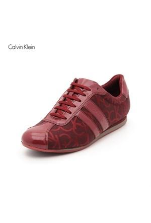 Calvin Klein N1042 Gayla Ck Logo Jac Soft Ruby