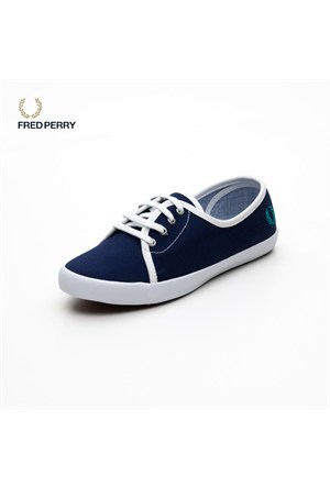 Fred Perry B4189w-D350 Bell Canvas Lacivert