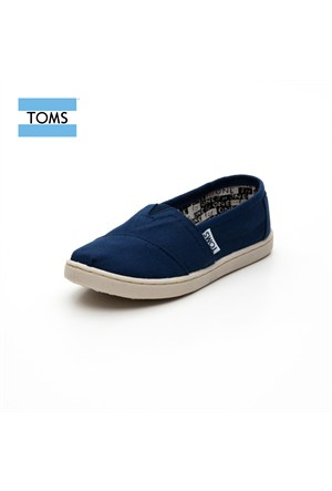 Toms 012001C13 Navy Canvas Nvy