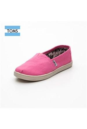 Toms 012001C13 Pink Canvas Pink