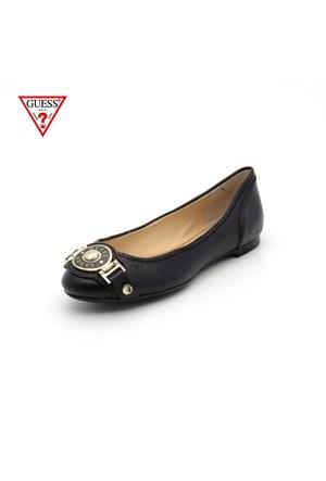 Guess Fl4hnd Lea02 Handel-Ballerina-Leather Black