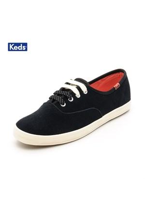 Keds Wh48118 Ch Suede Cvo Black