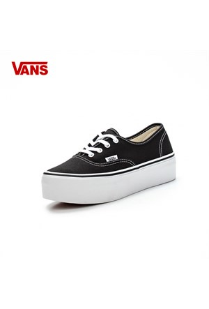Vans Vypp1wx Authentic Platform Canvas Black-True White