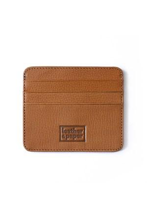 Leather&Paper Konyak Deri Kredi Kartlık
