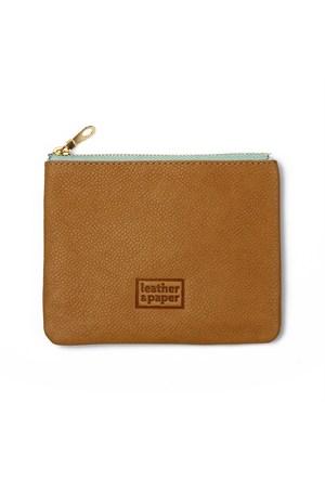 Leather&Paper Konyak Deri Mini Çanta