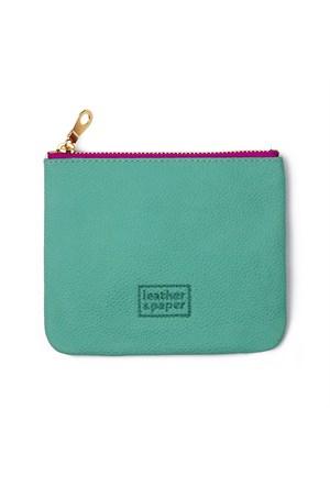 Leather&Paper Zümrüt Yeşil Deri Mini Çanta