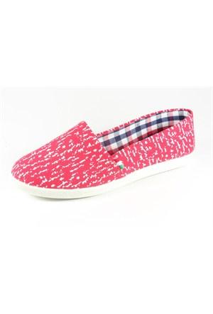 Pink Clover Kırmızı Kadın Babet 741