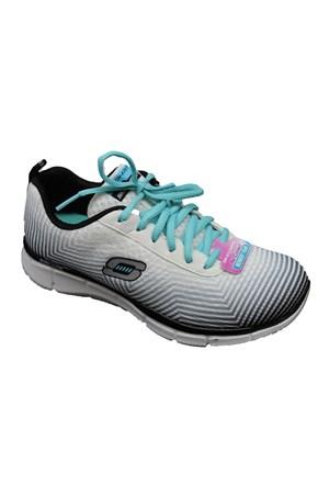 Skechers 12034-Wbk Unisex Yürüyüş Ve Koşu Spor Ayakkabı