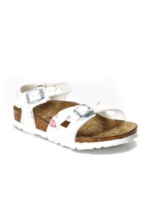 Birkenstock Wb332093 Beyaz Kız Çocuk Sandalet