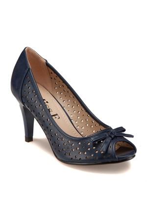 Miss F F18003 Lacivert Kadın Ayakkabı