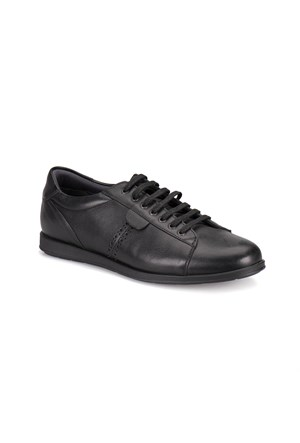 Flogart N-26 M 1300 Siyah Erkek Deri Ayakkabı