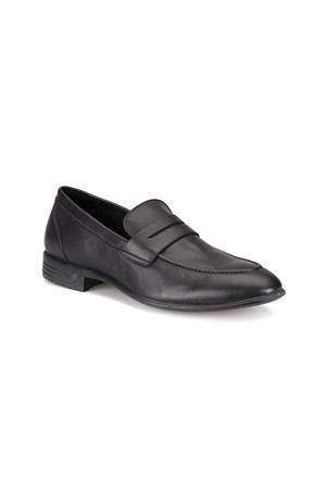 Travel Soft Trv-4 M 1471 Siyah Erkek Deri Ayakkabı