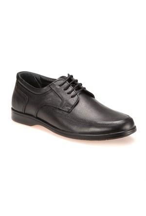 Flexall 1 M 1493 Siyah Erkek Deri Ayakkabı
