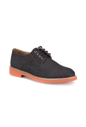Jj-Stiller 69516 M 1506 Siyah Erkek Ayakkabı