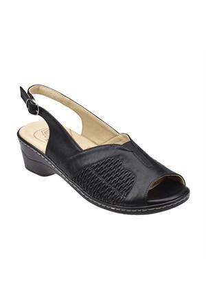 Polaris 5 Nokta 61.108079.Z Siyah Kadın Sandalet