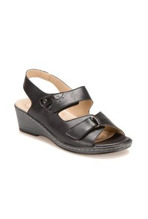 Polaris 5 Nokta 61.108080.Z Siyah Kadın Sandalet