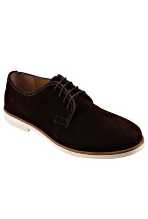 Jj-Stiller Kl-51153-1 M 1506 Kahverengi Erkek Deri Ayakkabı