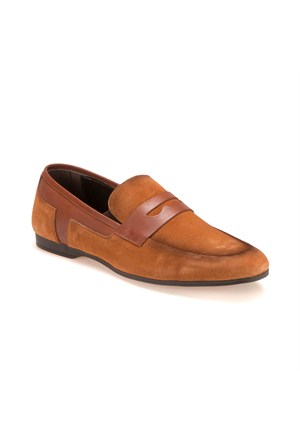 Jj-Stiller 397 M 2301 Taba Erkek Deri Ayakkabı