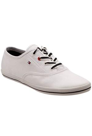 Tommy Hilfiger Vıctorıa 1D Beyaz Kadın Sneaker