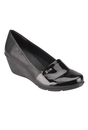 Travel Soft O17051 Siyah Kadın Ayakkabı