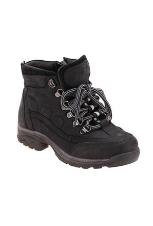 Dockers By Gerli A3315822 Siyah Erkek Çocuk Nubuk Deri Ayakkabı