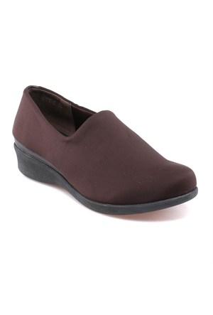 Travel Soft O17046 Kahverengi Kadın Ayakkabı