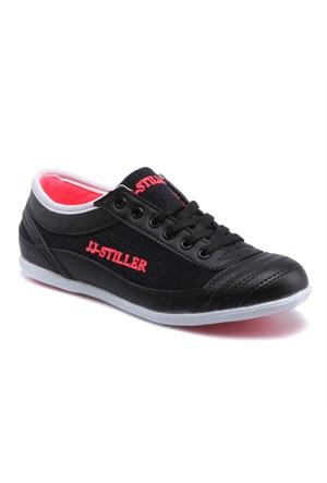 Jj-Stiller P20 Siyah Kadın Sneaker