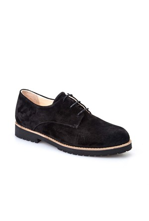 Cabani Kadın Ayakkabı Siyah Süet