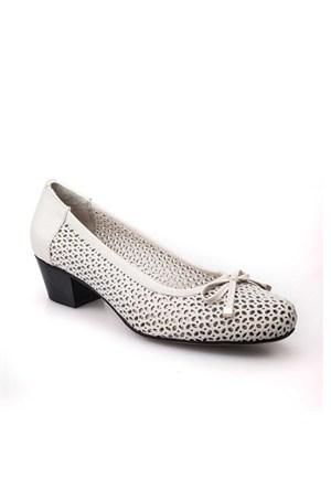 Cabani Kadın Ayakkabı Bej Deri