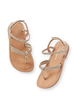 Carter's Kız Çocuk Sandalet Raınbow2