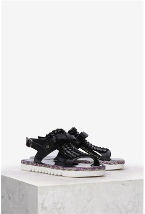İlvi Berri 9948 Siyah Sandalet