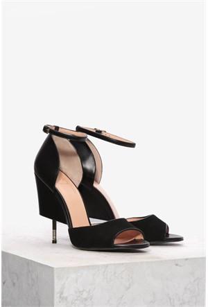 İlvi Janetta 3702 Siyah Sandalet