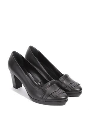 İlvi Kardelia 1042 Siyah Ayakkabı