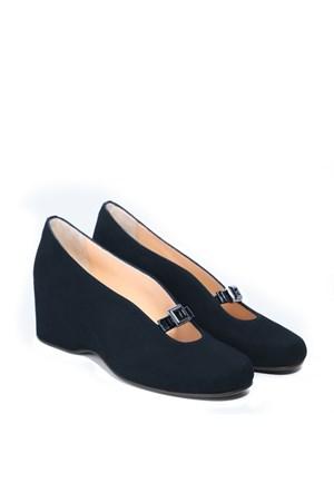İlvi Dainty 190 Lacivert Süet Ayakkabı