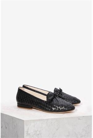 İlvi Botega 060 Siyah Ayakkabı