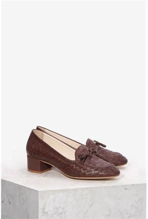 İlvi Vona 095 Kahverengi Ayakkabı