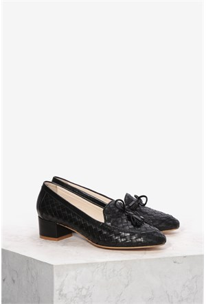 İlvi Vona 095 Siyah Ayakkabı