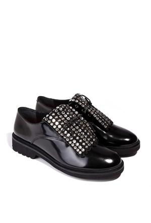 İlvi Miracle 9519 Siyah Açma Ayakkabı