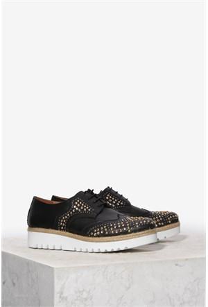 İlvi Klarisa 32641 Siyah Ayakkabı