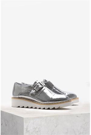 İlvi Everil 9683 Gümüş Ayakkabı