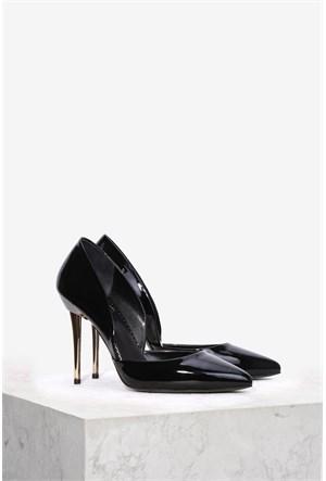 İlvi Portia 3638 Siyah Rugan Stiletto