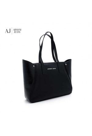 Armani Jeans Çanta B5263w512 Armani Shopping Bag Nero - Black