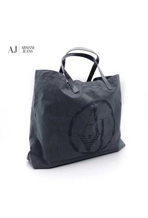 Armani Jeans Çanta C522xu42t Armani Women Bag Grigio - Grey