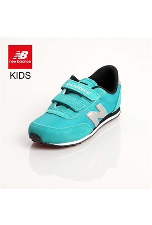 New Balance Ke410tey New Balance Kids Pre-School Teal Grey