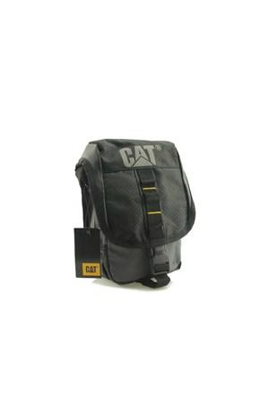 Caterpillar 82560 Black Grey Askılı Çantası